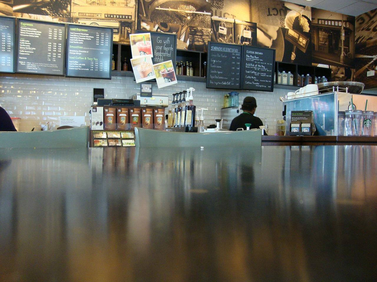 Die 5 größten Kaffeeketten auf der Welt